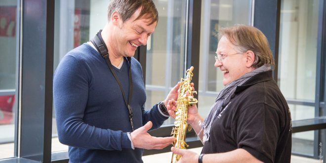 Saxophon Ausstellung